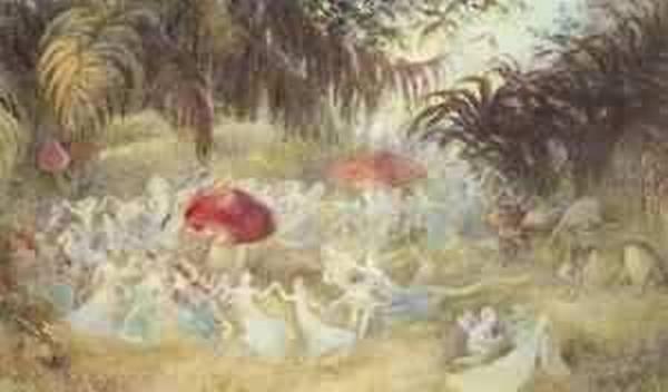 the fairies dance